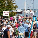 The Charity Boat Auction is held annually on Labor Day weekend at the Chesapeake Bay Maritime Museum in St. Michaels, Maryland.