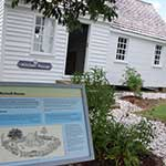 The Mitchell House at the Chesapeake Bay Maritime Museum in St. Michaels, Maryland.