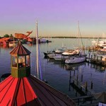 St. Michaels Harbor, Maryland.