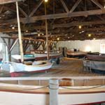 The Small Boat Shed Exhibition at the Chesapeake Bay Maritime Museum in St. Michaels, Maryland.