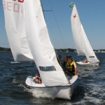 Private sailing lessons are offered at the Chesapeake Bay Maritime Museum in St. Michaels, Maryland