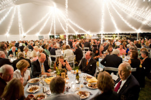 The Annual Boating Party Fundraiser at the Chesapeake Bay Maritime Museum in St. Michaels, Maryland.