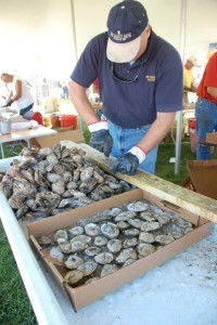 OysterFest at the Chesapeake Bay Maritime Museum in St. Michaels, Maryland.