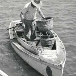 Smith Island power crabbing skiff, c. 1952 by Constance Stuart Larrabee. Collection of the Chesapeake Bay Maritime Museum, St. Michaels, MD. Bequest of the photographer.