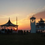 CBMM) in St. Michaels, MD will be the location for an Easter sunrise service, which is coordinated and led by a number of St. Michaels area churches. The service is open to the public and scheduled to begin at 6:15 a.m. on Sunday, April 5 at the historic Tolchester Beach Bandstand, as shown here.
