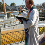 Blessing of the Fleet is held annually in April at the Chesapeake Bay Maritime Museum in St. Michaels, Maryland.