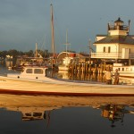 Maintained afloat at the Chesapeake Bay Maritime Museum, the Hoopers Island dovetail Martha was built by Bronza M. Parks at Wingate, Md., in 1934, and is part of a new exhibition opening at the museum