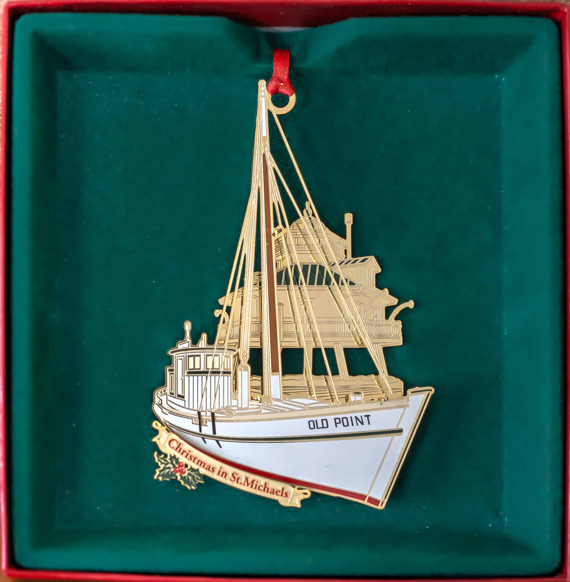 2015 christmas in saint michaels ornament - Christmas In St Michaels