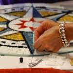 Mosaic Workshop at the Chesapeake Bay Maritime Museum in St. Michaels, Maryland.
