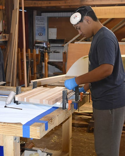 Rising Tide After-School Boatbuilding Program