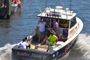 Watermen's Appreciation Day boat docking contest