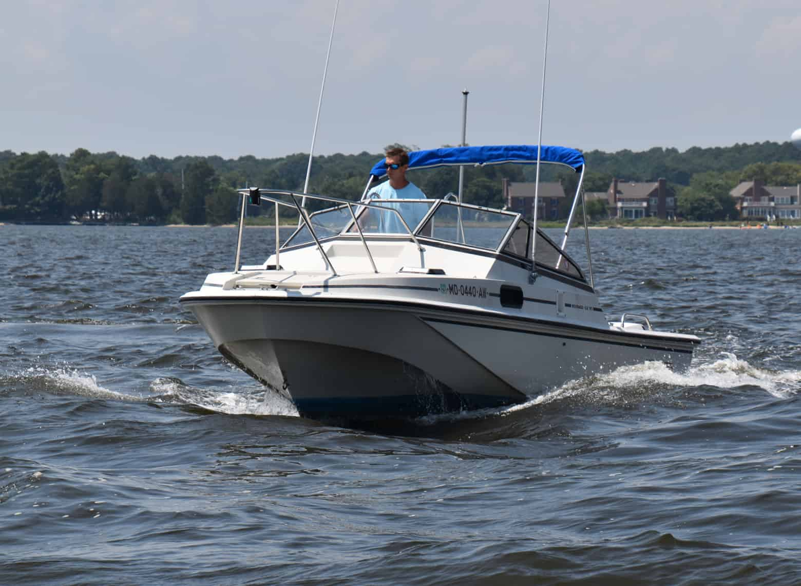 SOLD: Charity Boat Auction Feature: Boston Whaler 22