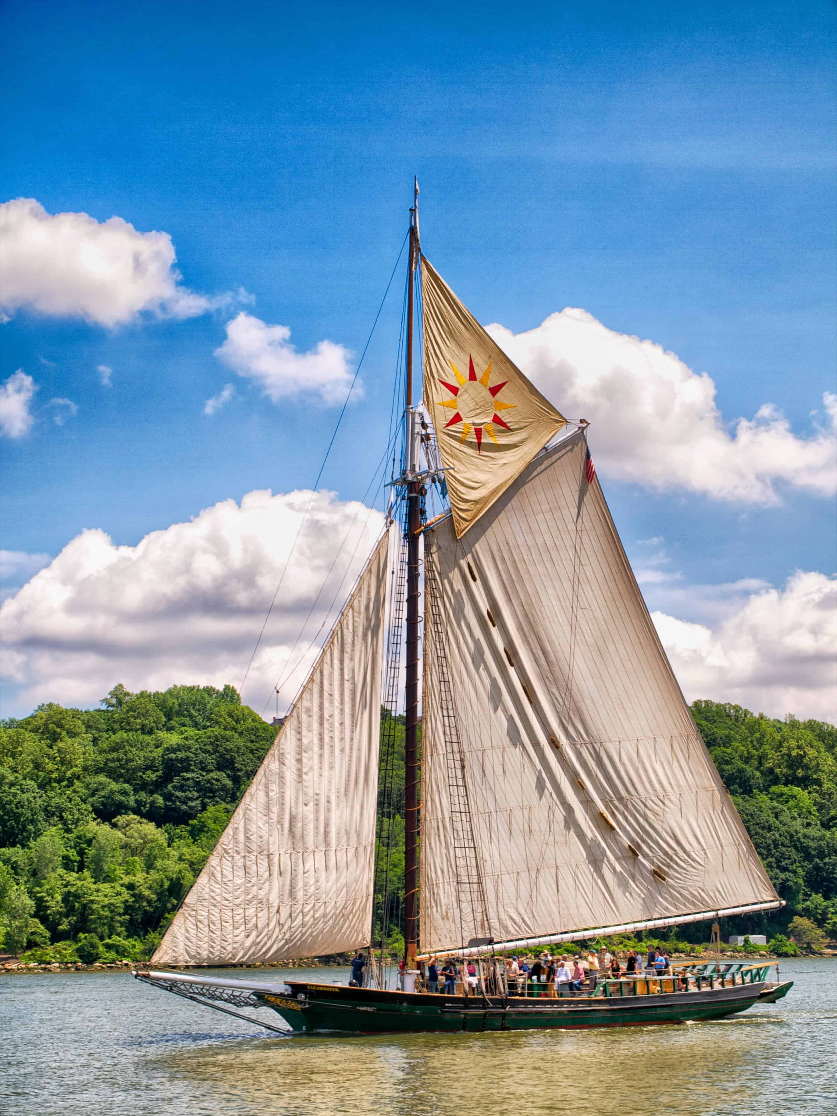 Cancelled  Hudson River Sloop Clearwater At Cbmm This July