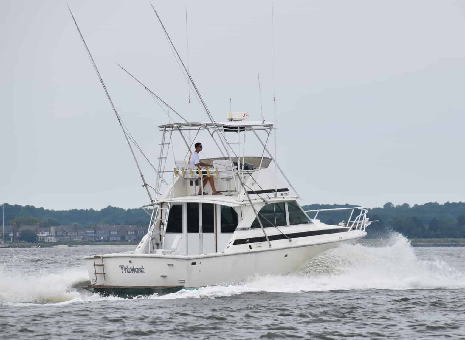 SOLD: Charity Boat Auction Feature: Bertram 35